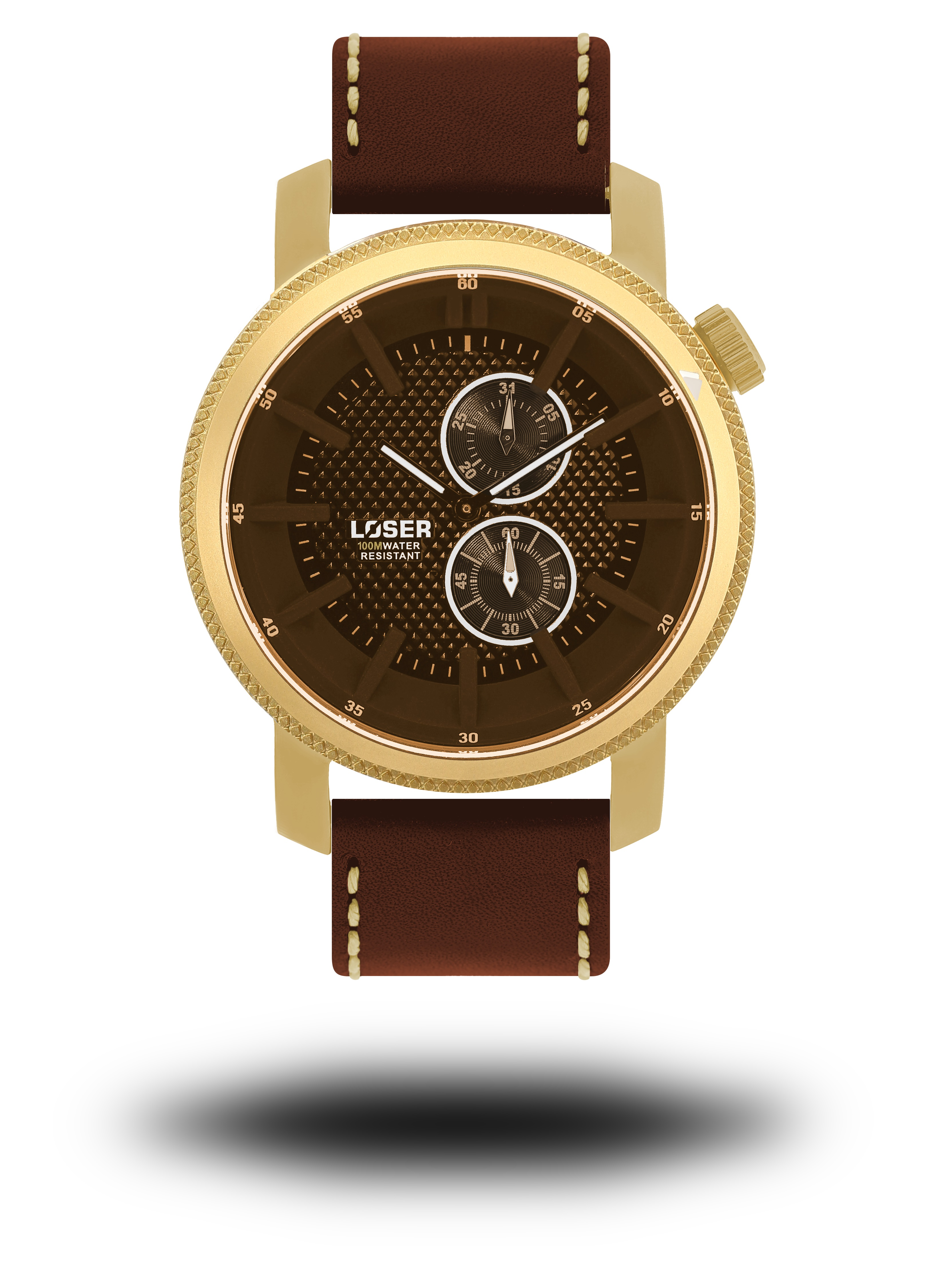 Luxusní nadčasové sportovní vodotěsné hodinky LOSER Infinity EMPIRE (POŠTOVNÉ ZDARMA!! - zlaté)