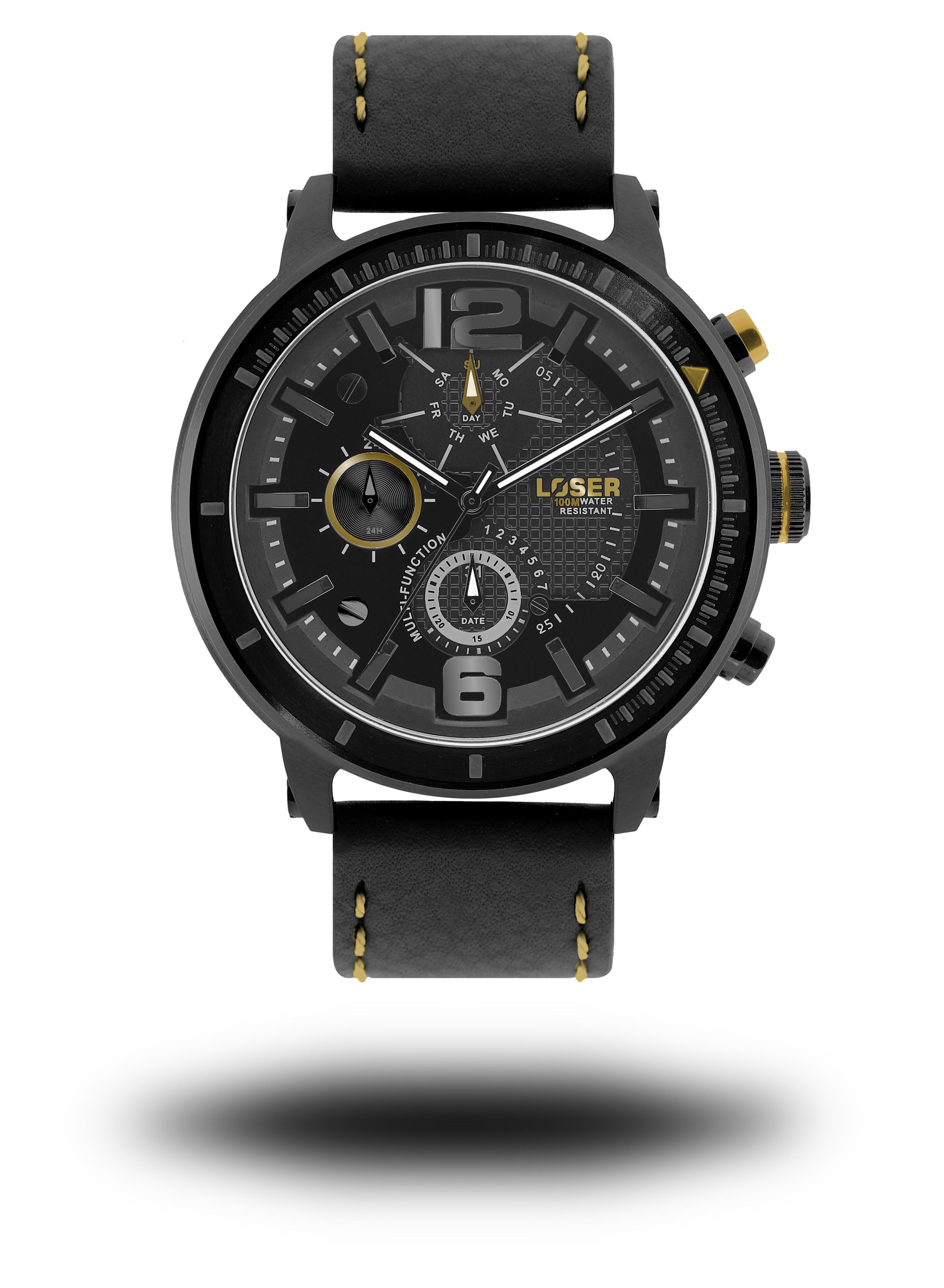 Luxusní nadčasové sportovní vodotěsné hodinky LOSER S-Mode ECLIPSE (POŠTOVNÉ ZDARMA!! )