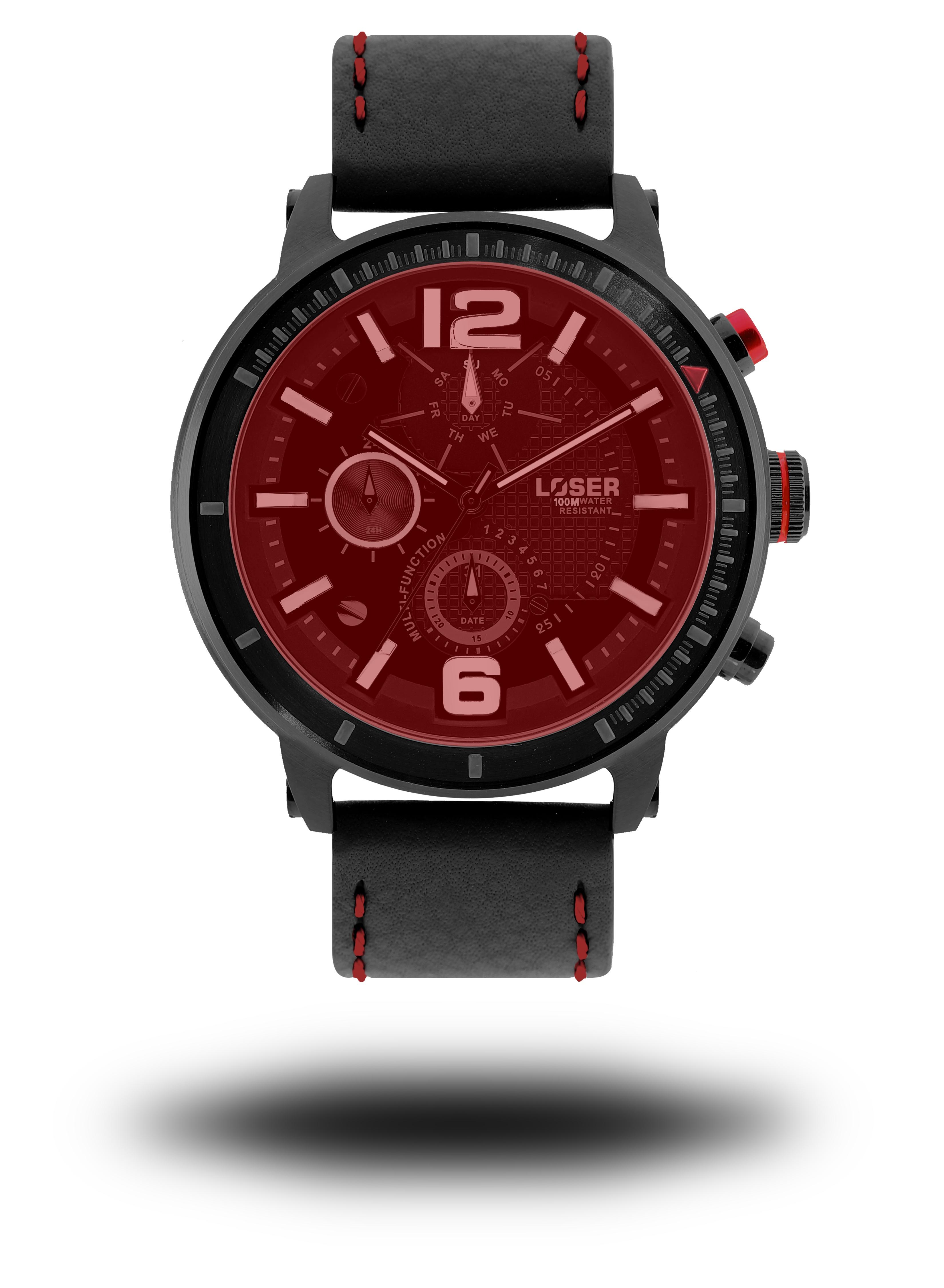 Luxusní nadčasové sportovní vodotěsné hodinky LOSER S-Mode FIRE (POŠTOVNÉ ZDARMA!! )