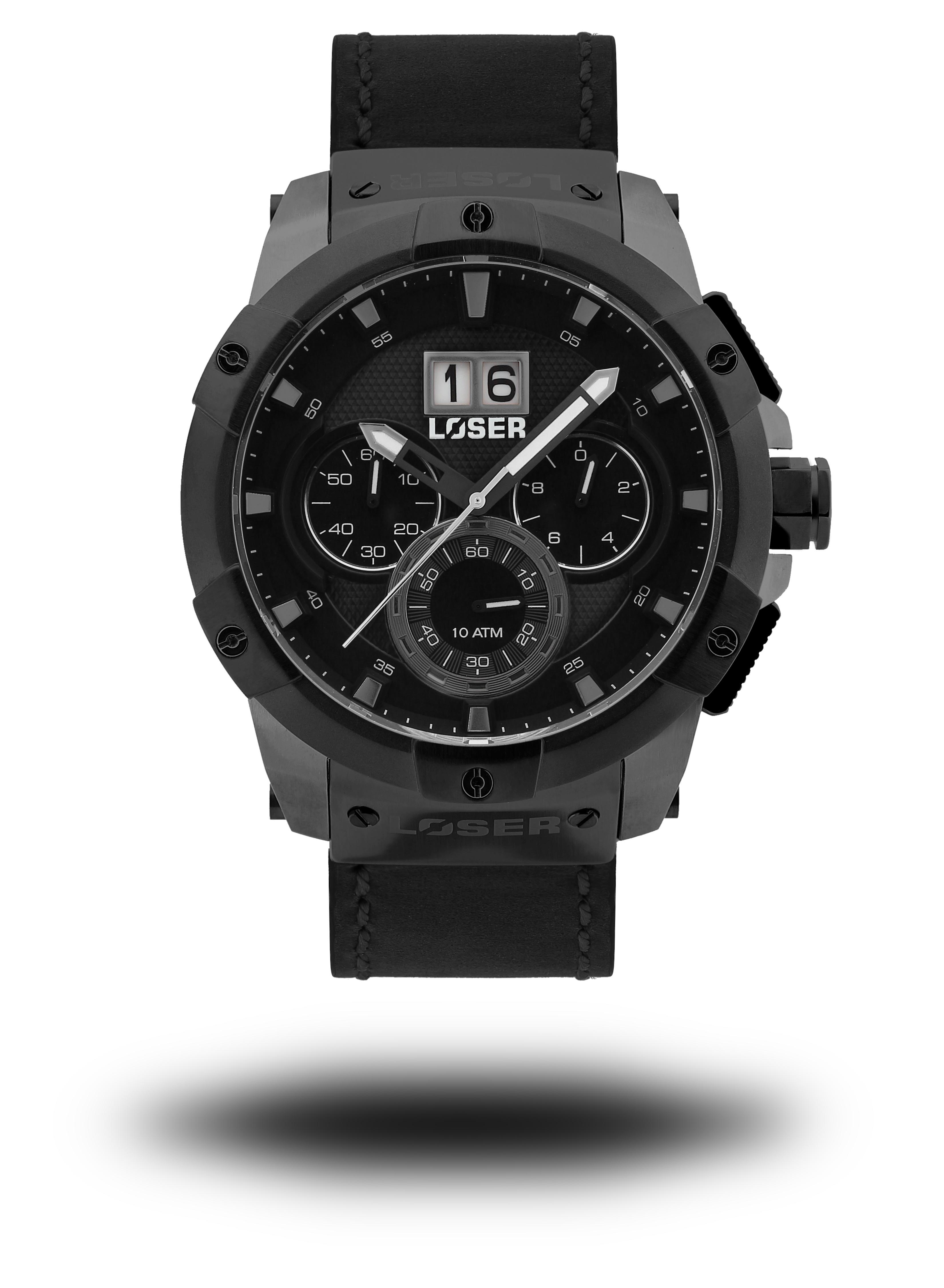 Luxusní nadčasové sportovní vodotěsné mohutné hodinky LOSER Vision DUST GREY (POŠTOVNÉ ZDARMA!! )
