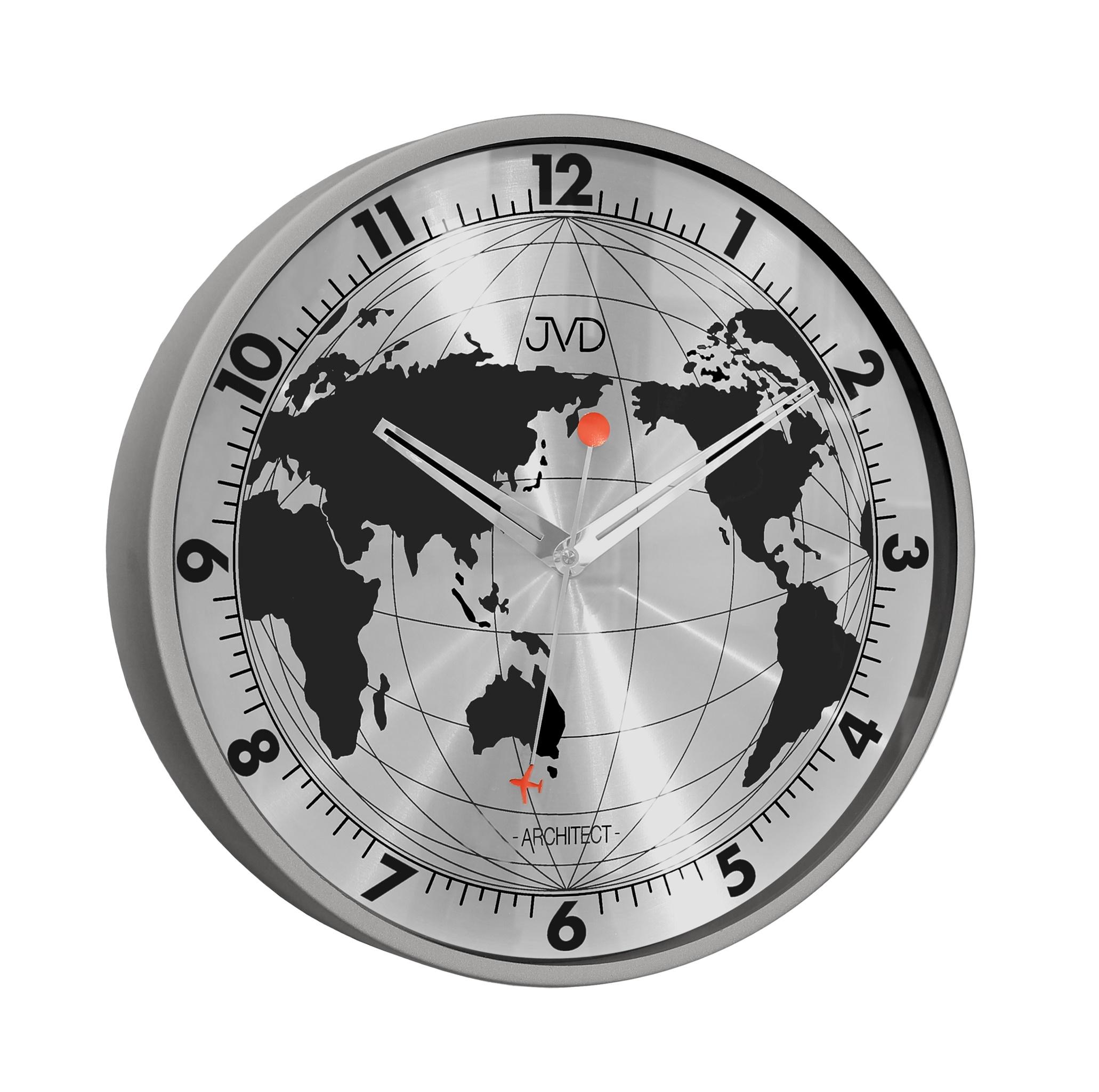 Celo - kovové designové hodiny JVD -Architect- HC15.1 (POŠTOVNÉ ZDARMA!!)