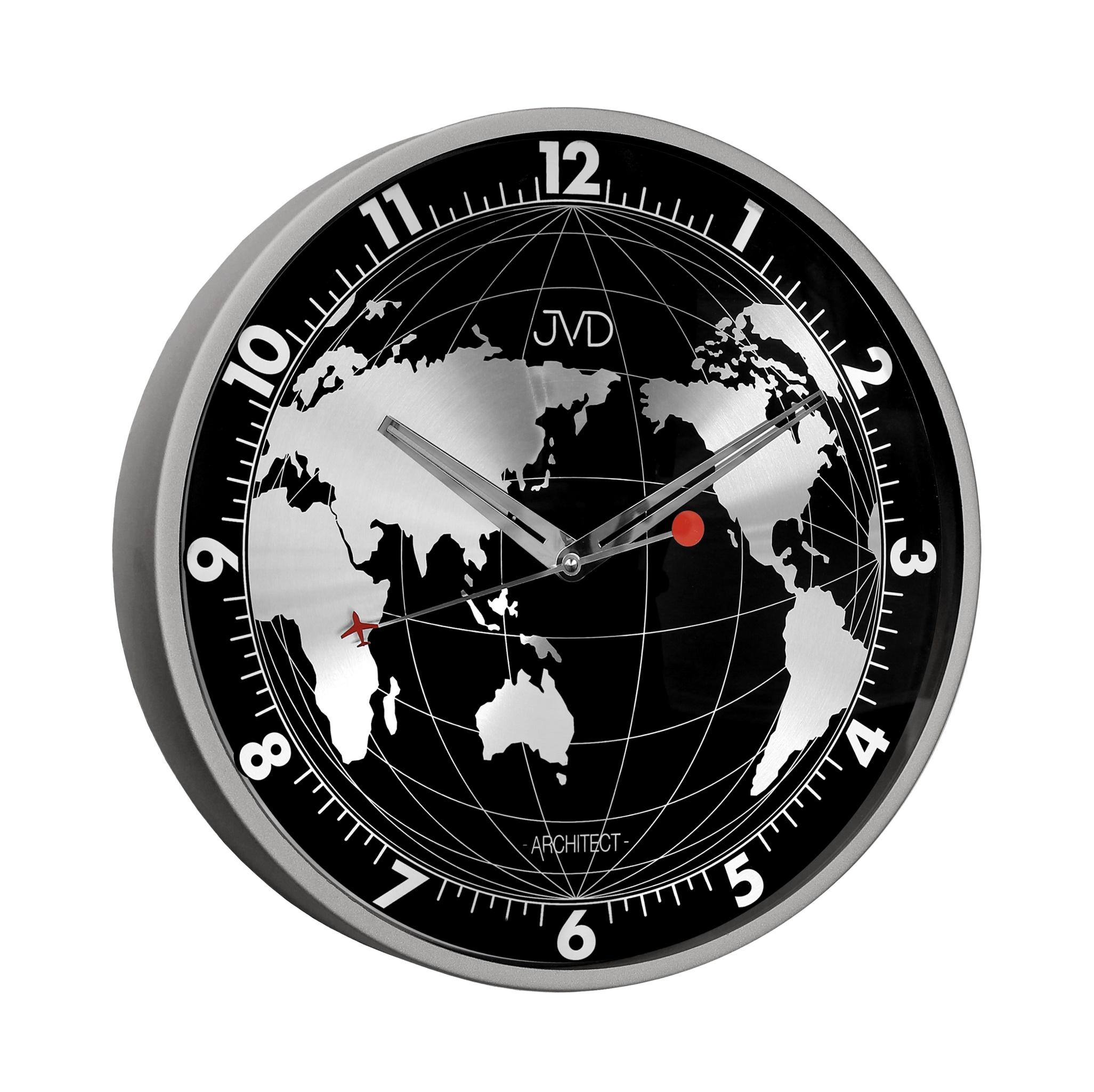 Celo - kovové designové hodiny JVD -Architect- HC15.2 (POŠTOVNÉ ZDARMA!!)
