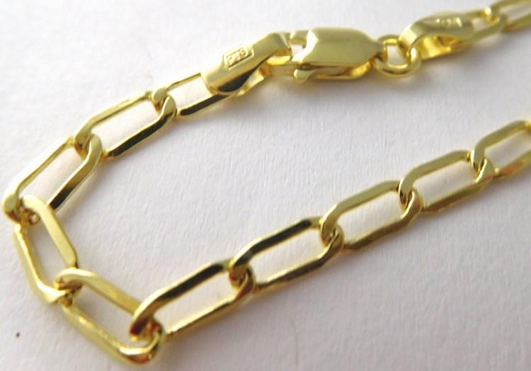 Pánský mohutný zlatý řetízek šířka 3,2mm 585/3,87gr 50cm 3640170