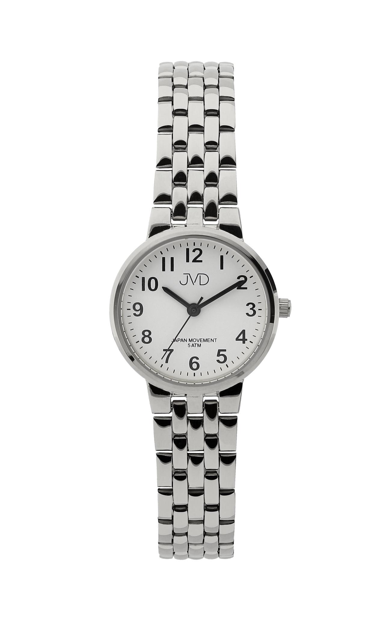 Dámské ocelové čitelné hodinky JVD J4157.1  525442886a4