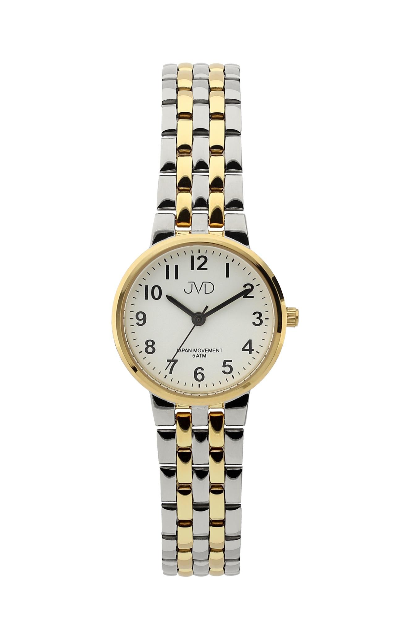 Dámské ocelové čitelné hodinky JVD J4157.2 (POŠTOVNÉ ZDARMA!!!)