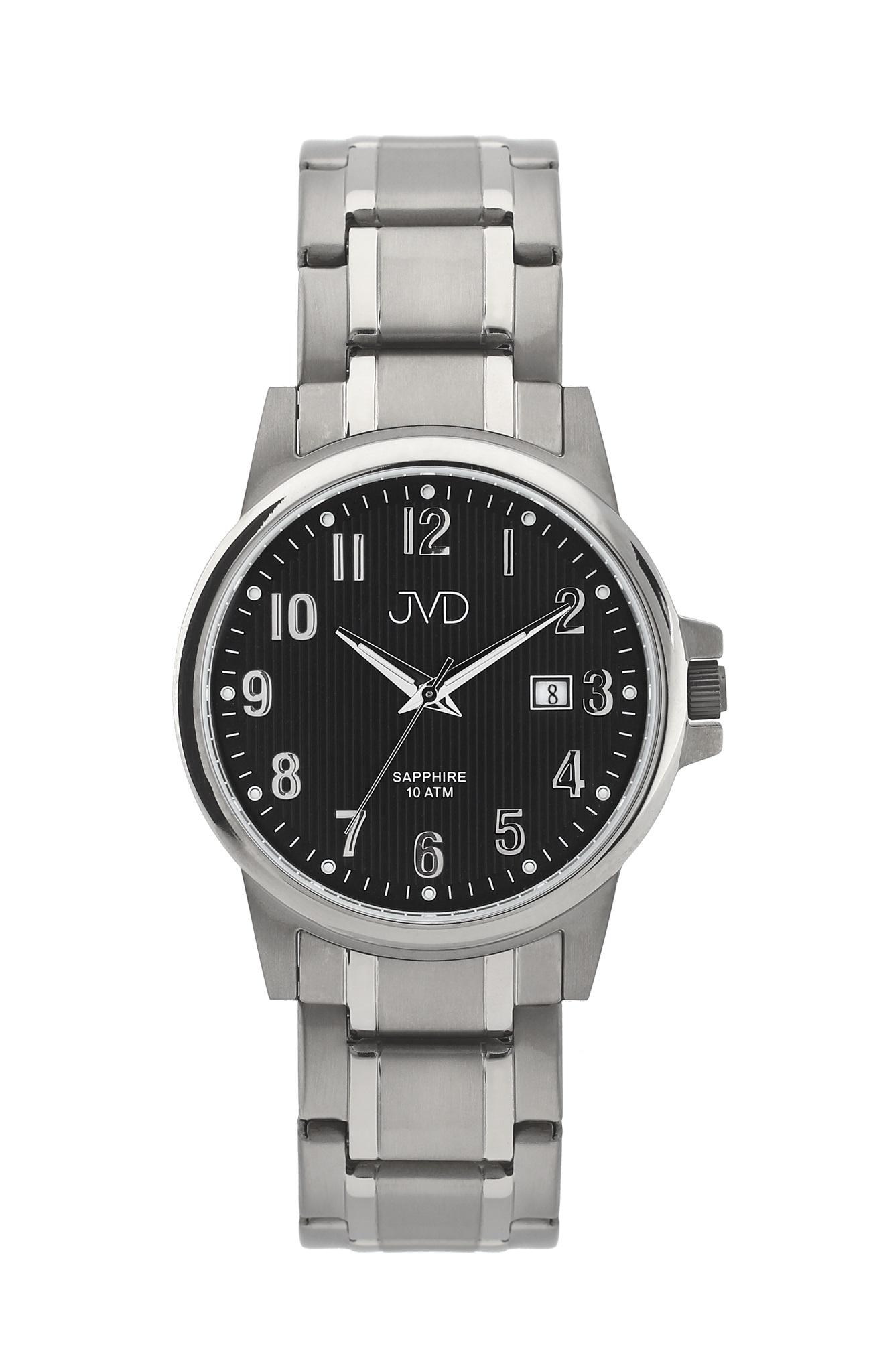 Pánské titanové antialergické vodotěsné hodinky JVD J2021.2 se safírovým sklem (POŠTOVNÉ ZDARMA!!!)