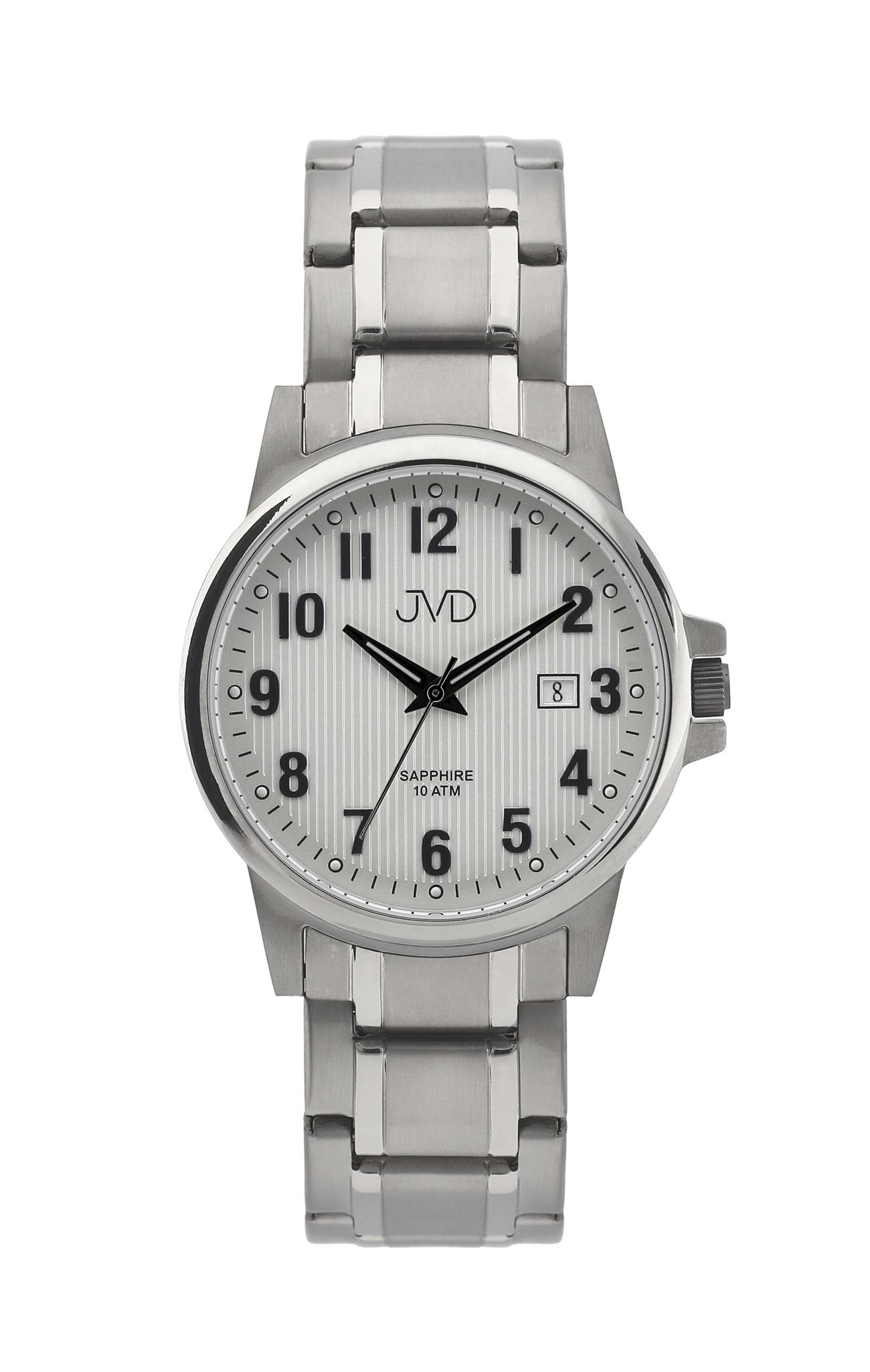 Pánské titanové antialergické vodotěsné hodinky JVD J2021.3 se safírovým sklem (POŠTOVNÉ ZDARMA!!!)