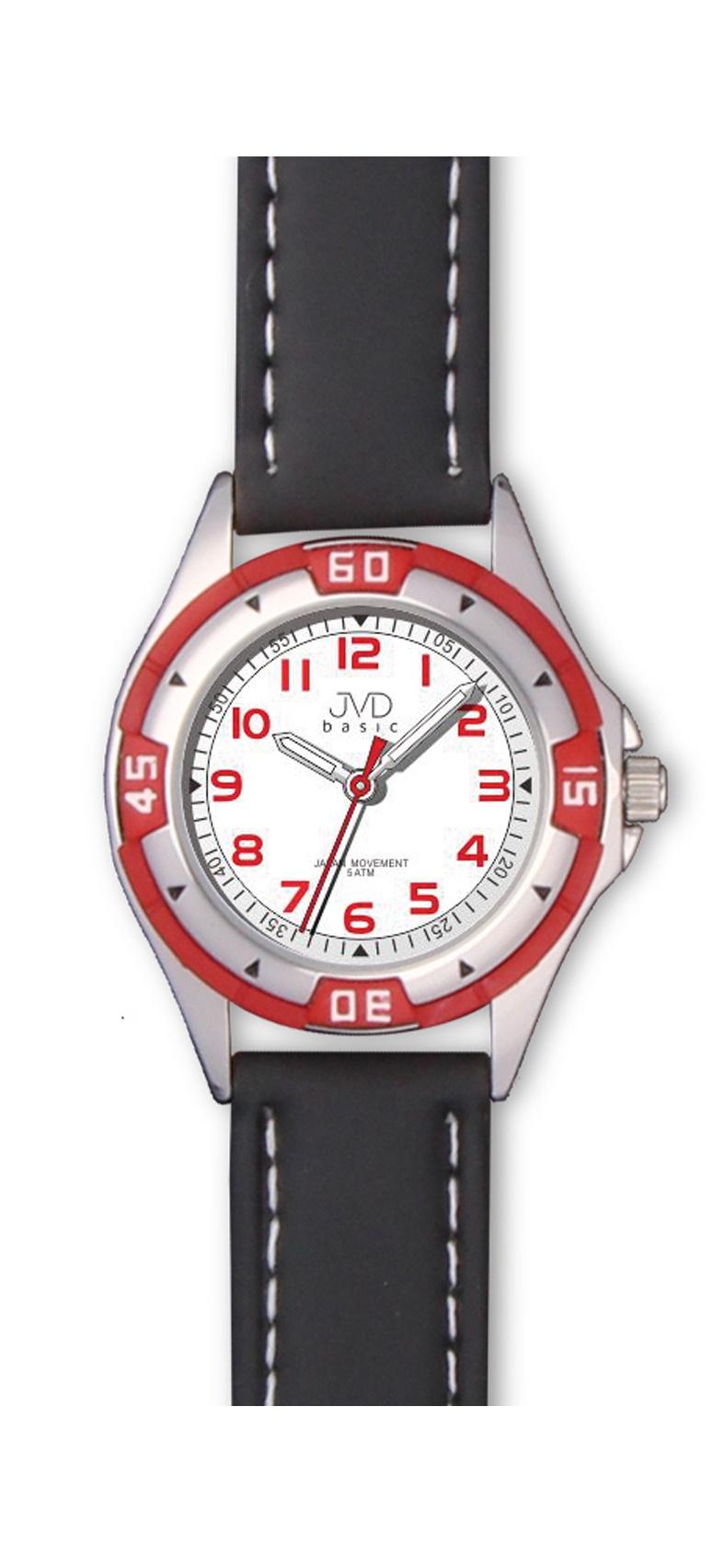 Chlapecké dětské voděodolné sportovní hodinky JVD J7099.1 - 5ATM (chlapecké hodinky)