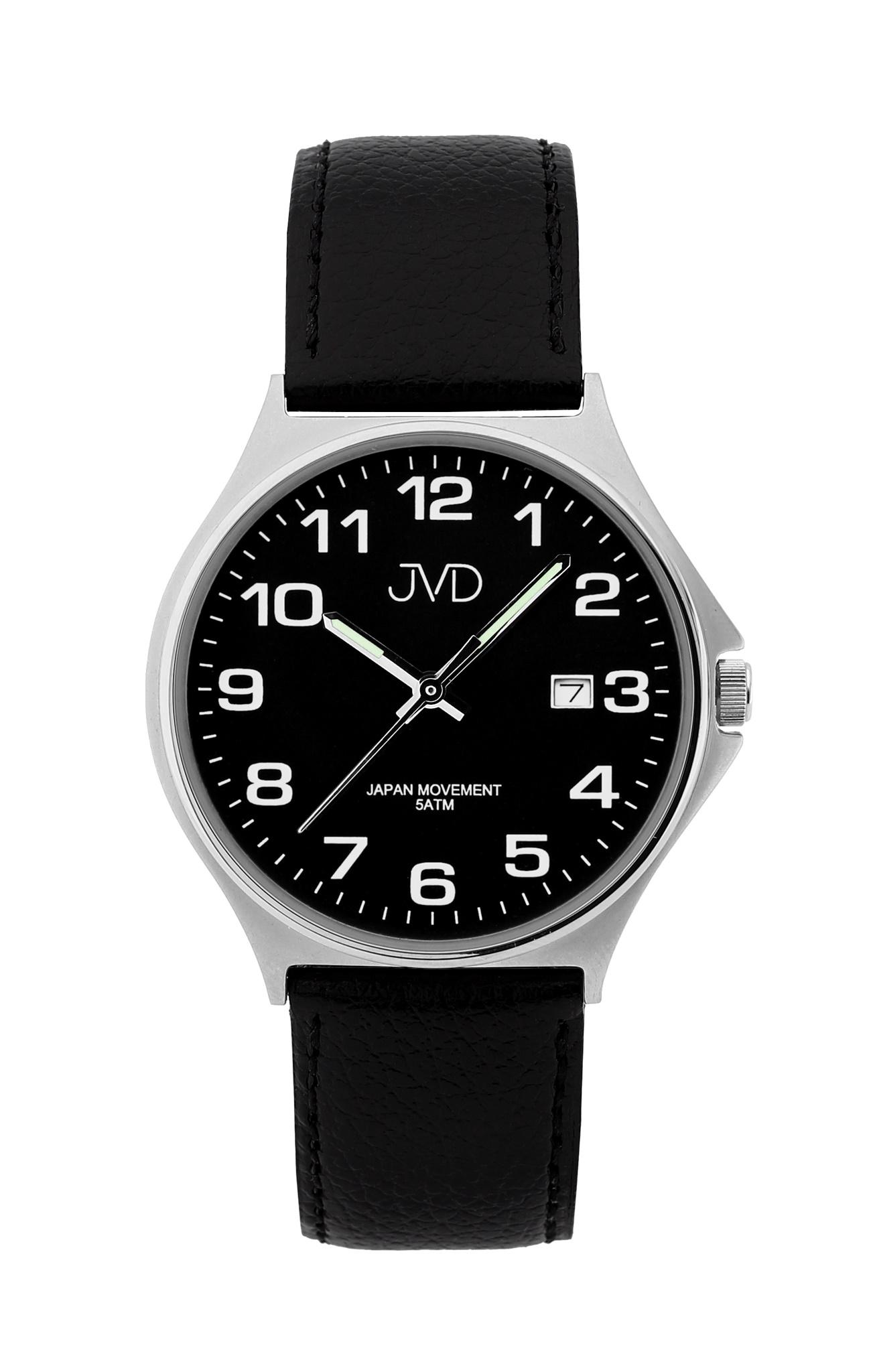 Pánské ocelové čitelné náramkové hodinky JVD J1114.5 ( )