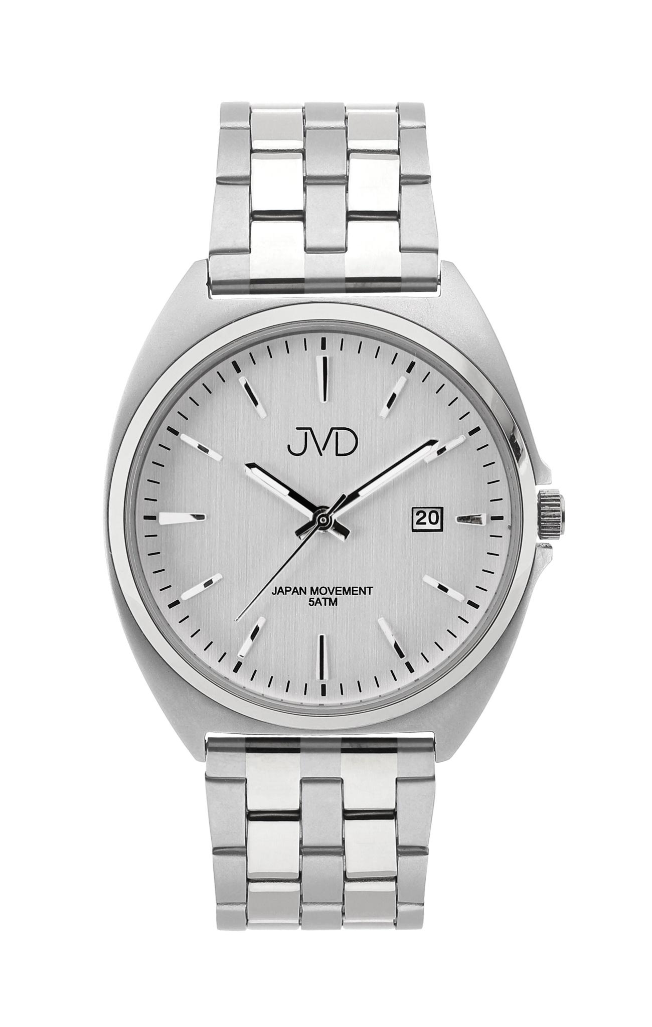 Pánské ocelové čitelné náramkové hodinky JVD J1115.2 - 5ATM ... cacb8945749