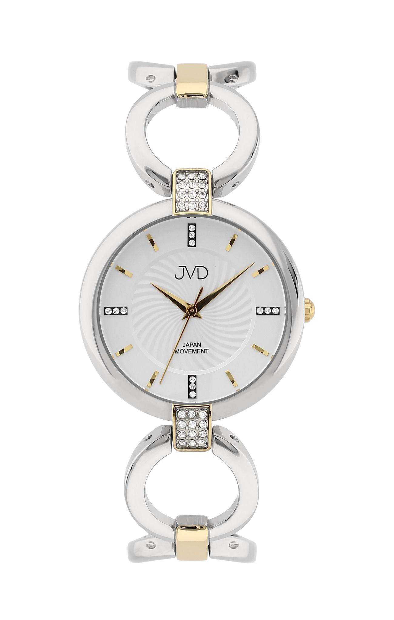 Luxusní dámské nerezové náramkové hodinky JVD JC093.2 - bicolor (POŠTOVNÉ ZDARMA!!)