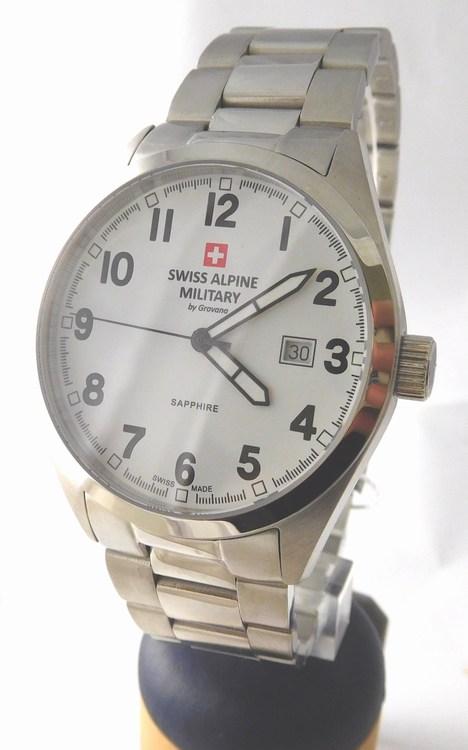 94080800762 Pánské luxusní švýcarské hodinky Grovana 1293.1133 Swiss Alpine Military