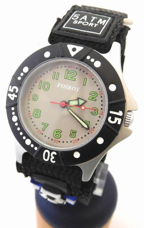 Chlapecké sportovní dětské hodinky Foibos 2589.3 pro malé fotbalisty - 5ATM ( )