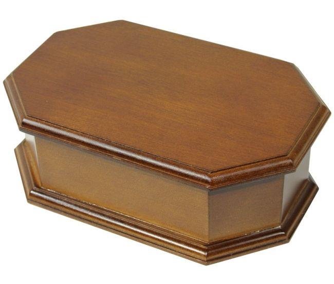 Jednoduchá dřevěná šperkovnice 22256/96000