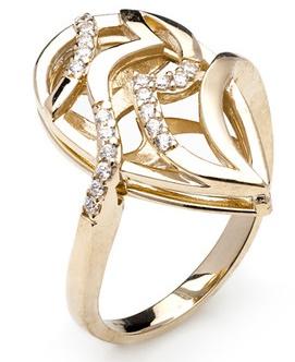 Dámský luxusní zlatý prsten se zirkony cca 585/7,15gr vel. libovolná 223041341 (223041341 - POŠTOVNÉ ZDARMA)