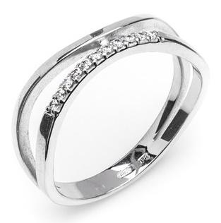 Dámský luxusní zlatý prsten se zirkony cca 585/2,20gr vel. libovolná 323041336 (323041336 - POŠTOVNÉ ZDARMA)