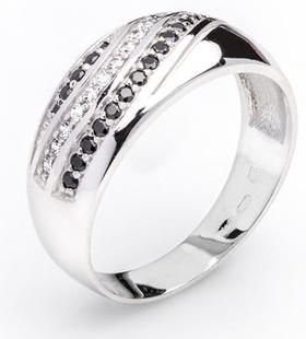 Dámský luxusní zlatý prsten se zirkony cca 585/4,10gr vel. libovolná 323041340 (323041340 - POŠTOVNÉ ZDARMA)