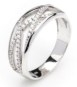 Dámský luxusní zlatý prsten se zirkony cca 585/4,10gr vel. libovolná 323041346 (323041346 - POŠTOVNÉ ZDARMA)