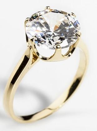 Dámský zásnubní zlatý prsten se zirkonem cca 585/2,4gr vel. libovolná 226041091 (226041091 - POŠTOVNÉ ZDARMA)