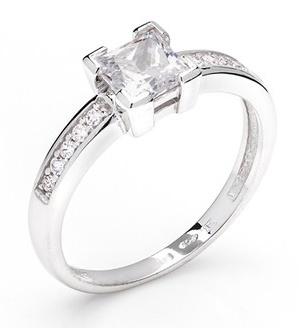 Dámský zásnubní zlatý prsten se zirkony cca 585/2,3gr vel. libovolná 326041117 (326041117 - POŠTOVNÉ ZDARMA)