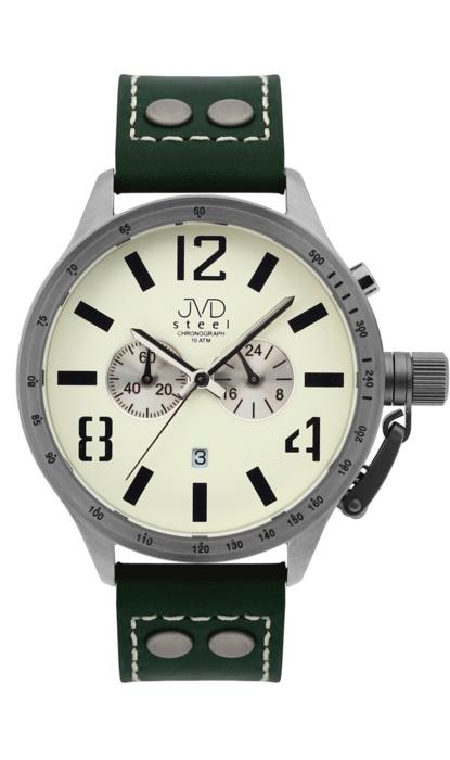 Exkluzivní černé vodotěsné hodinky J1010.1 - 10ATM