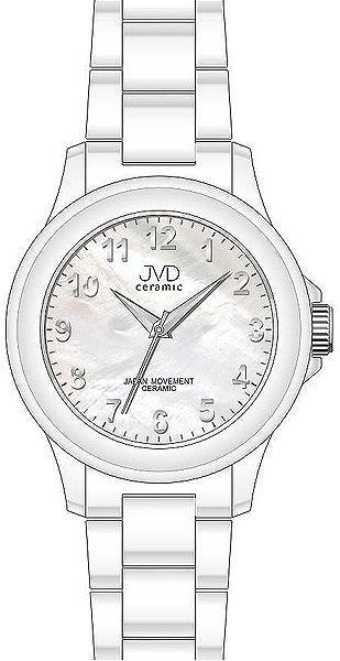 Luxusní keramické dámské náramkové hodinky JVD ceramic J6009.1 (POŠTOVNÉ ZDARMA!!)
