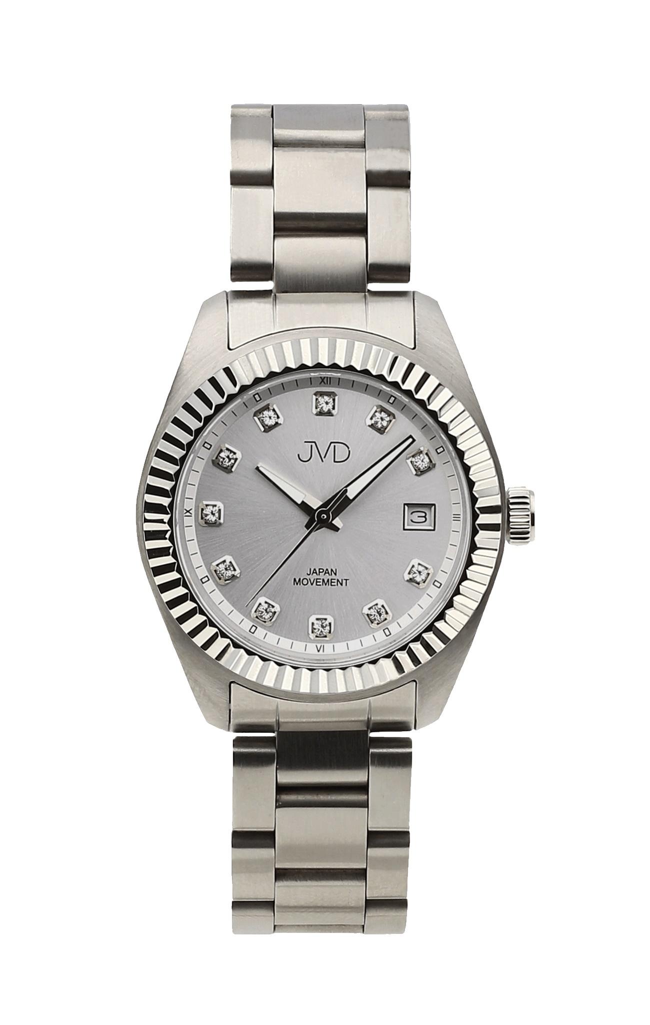 Dámské ocelové moderní náramkové hodinky JVD JC579.1 (5ATM - voděodolnost)