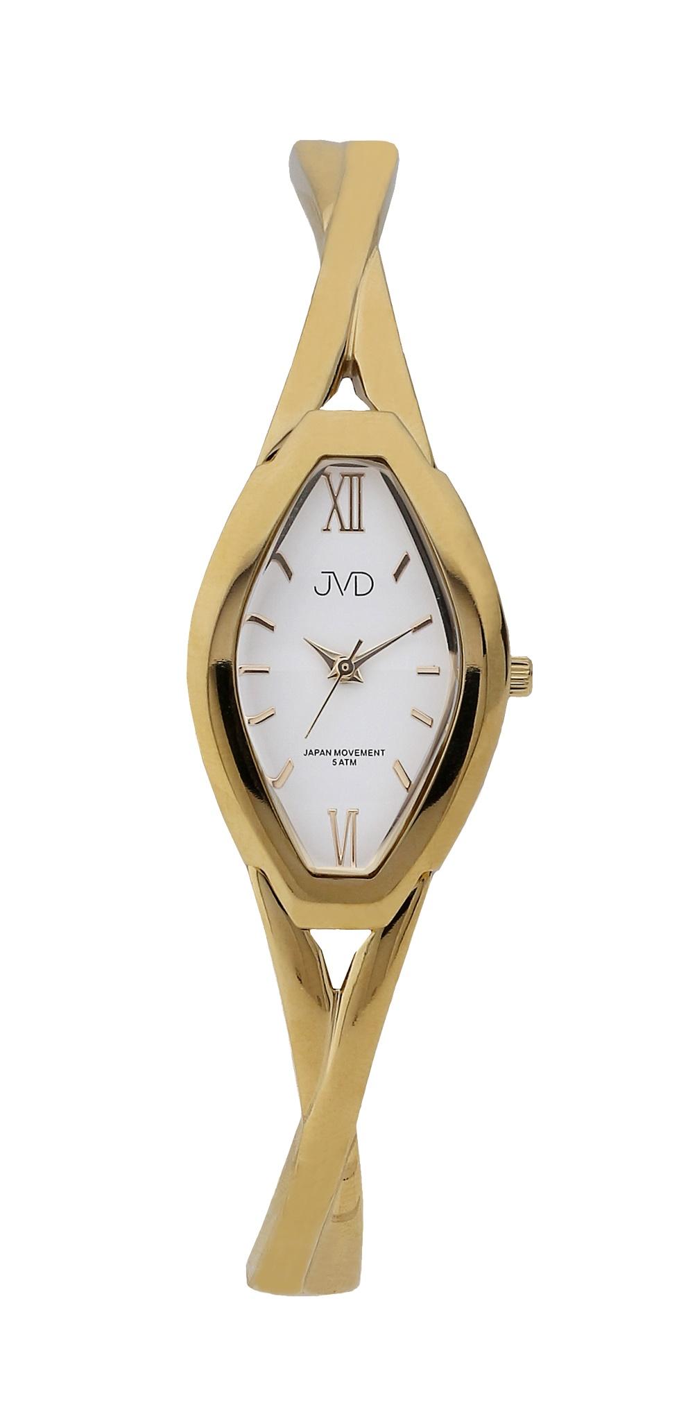Dámské elegantní antialergické titanové hodinky JVD J5029.3