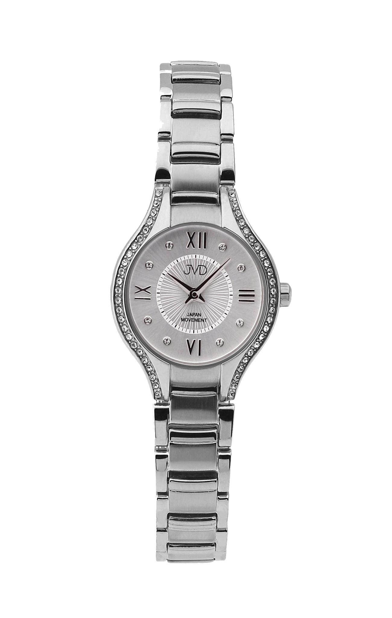 Dámské ocelové moderní hodinky JVD JC118.1 se zirkony (POŠTOVNÉ ZDARMA!! - 752682fa34