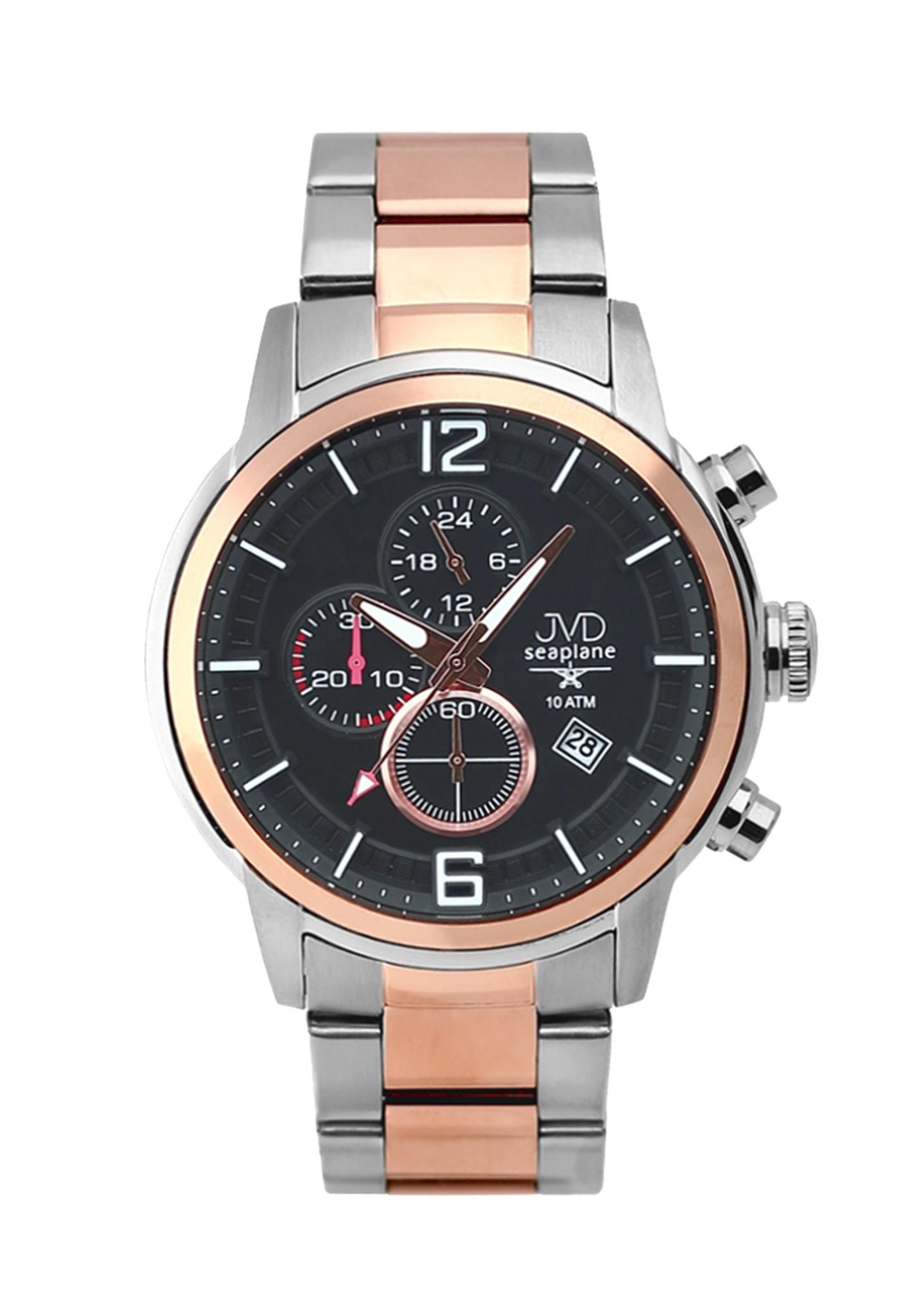 Vysoce odolné vodotěsné chronografy hodinky JVD Seaplane METEOR JC667.6 (POŠTOVNÉ ZDARMA!!)