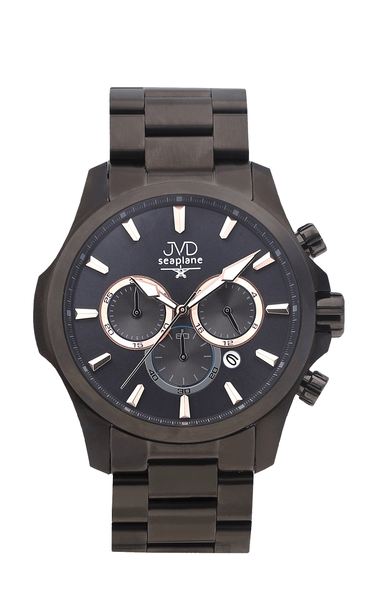 Vysoce odolné vodotěsné chronografy hodinky JVD Seaplane CORE JC704.2 - 10ATM (POŠTOVNÉ ZDARMA!!)