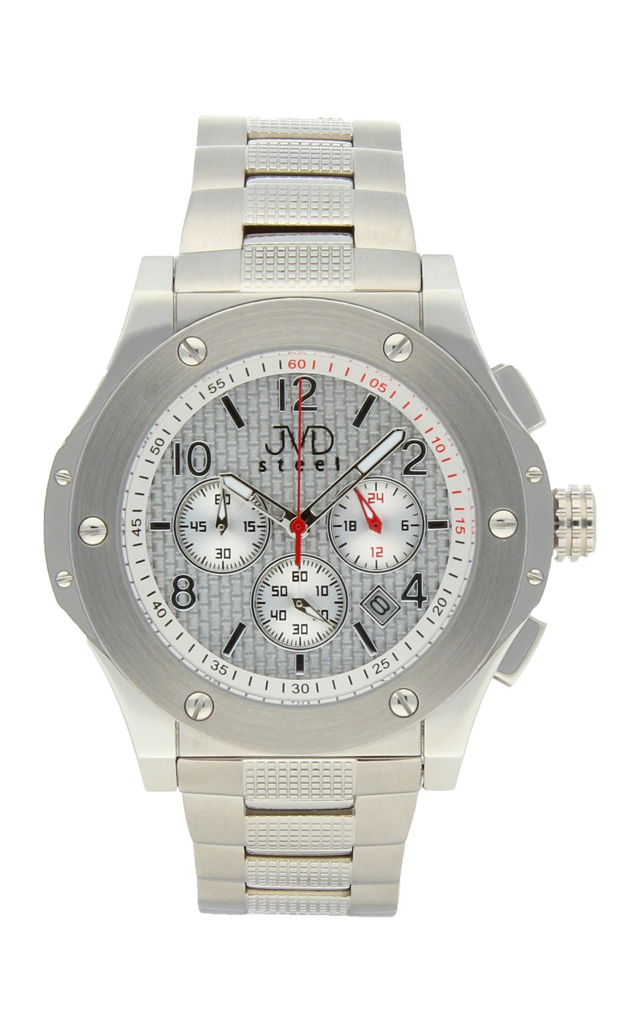 573d1ad80bc Luxusní pánské chronografy - vodotěsné hodinky Steel JVDC 732.1 (POŠTOVNÉ  ZDARMA!! - 10ATM