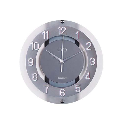 Luxusní skleněné netikající hodiny JVD NS2534.2 (tiché netikající hodiny)