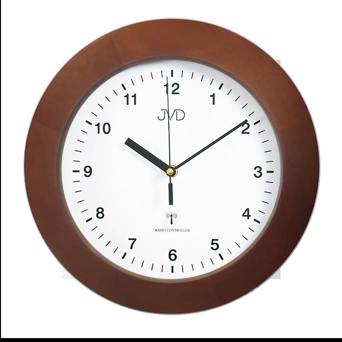Dřevěné přesné rádiem řízené hodiny JVD RH2226/41 ( POŠTOVNÉ ZDARMA!!)