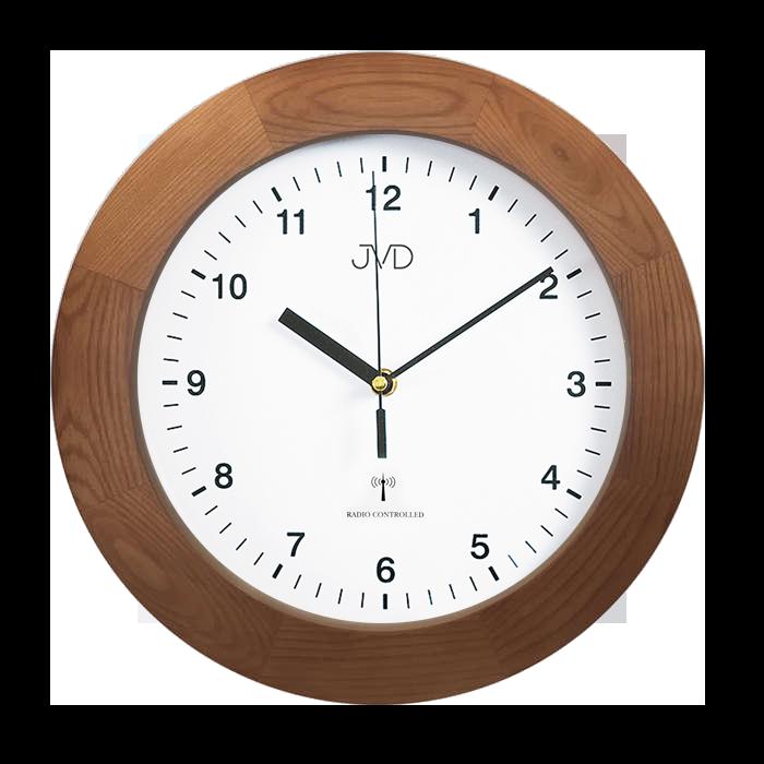 Dřevěné přesné rádiem řízené hodiny JVD RH2226/11 ( POŠTOVNÉ ZDARMA!!)