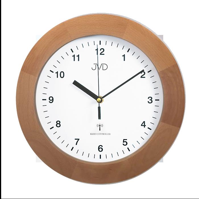 Dřevěné přesné rádiem řízené hodiny JVD RH2226/68 ( POŠTOVNÉ ZDARMA!!)