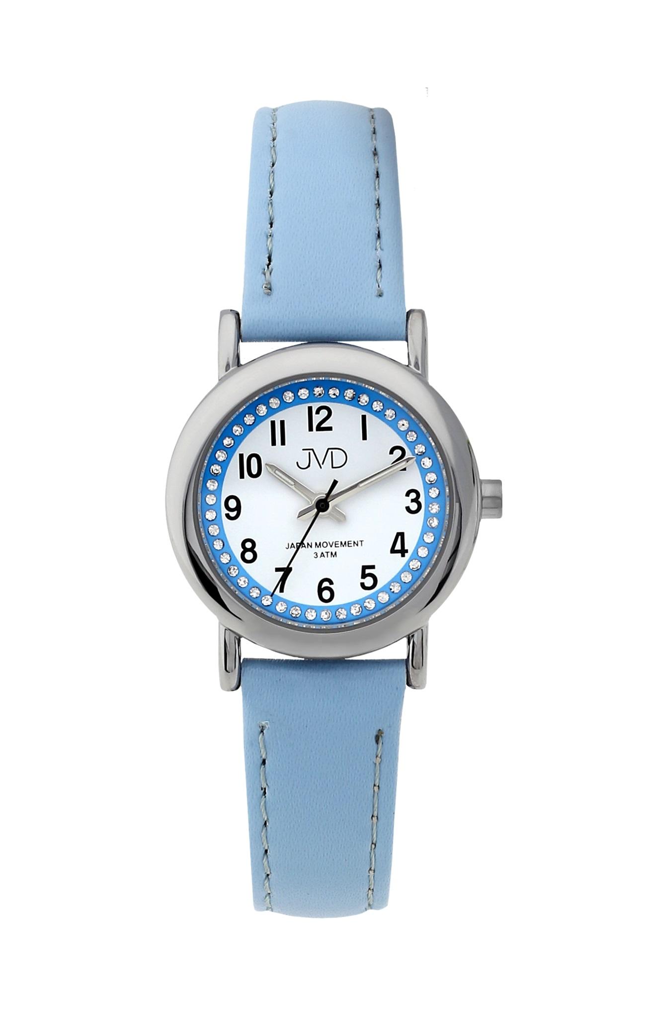 Dětské modré náramkové hodinky JVD J7179.1 ( )