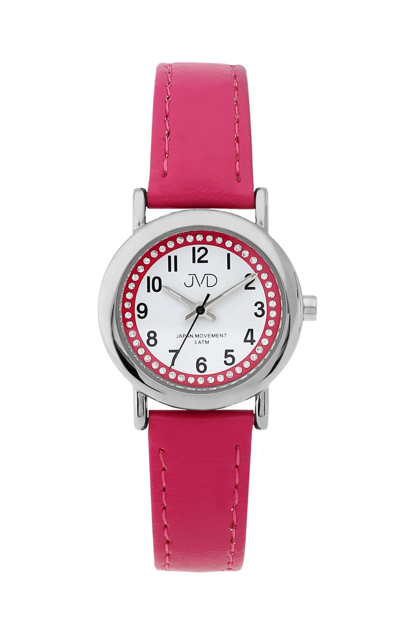 Dětské růžové náramkové hodinky JVD J7179.2 ( )