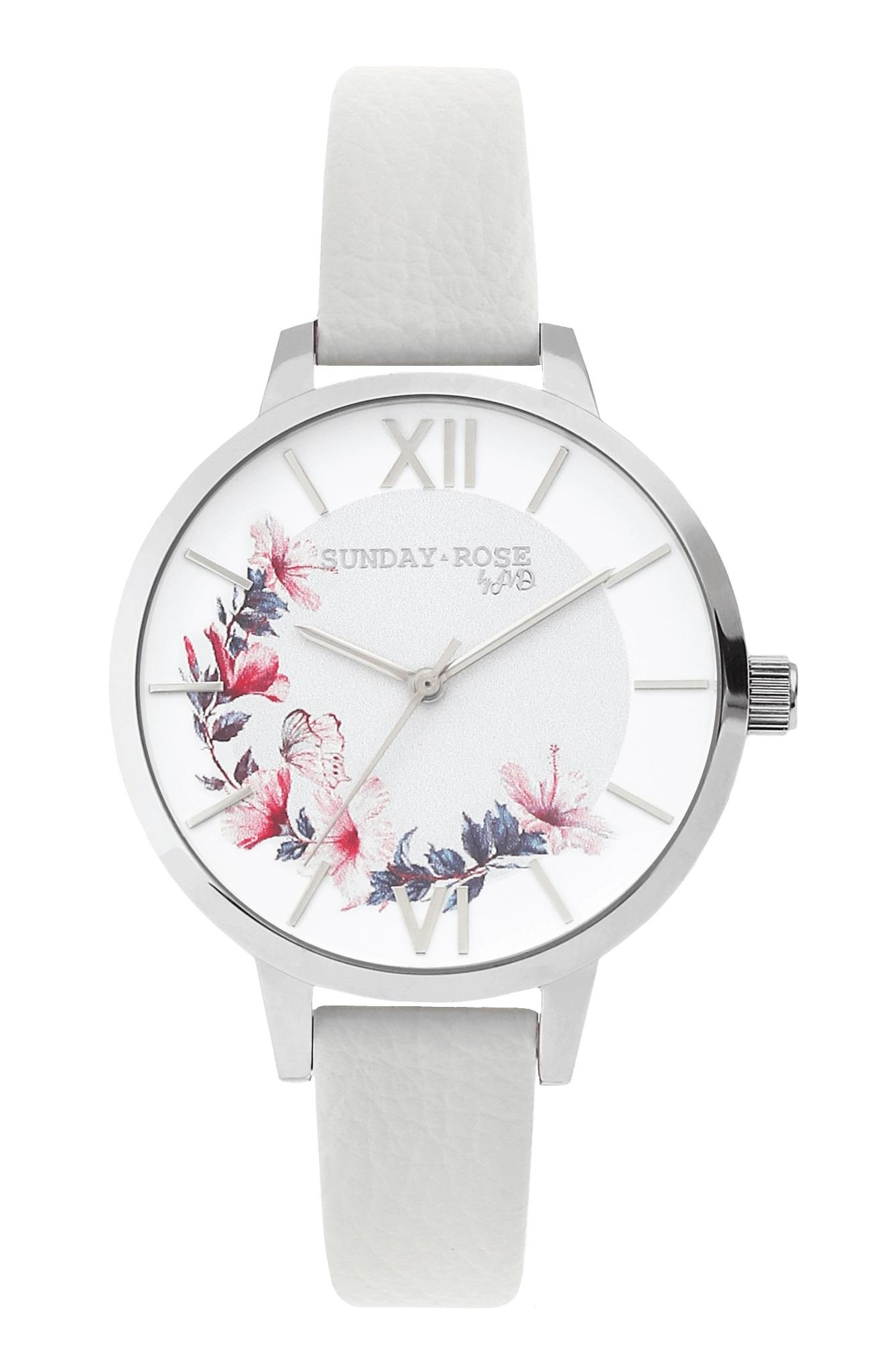 35396779e8c Dámské luxusní designové hodinky SUNDAY ROSE Spirit WILDFLOWER ...