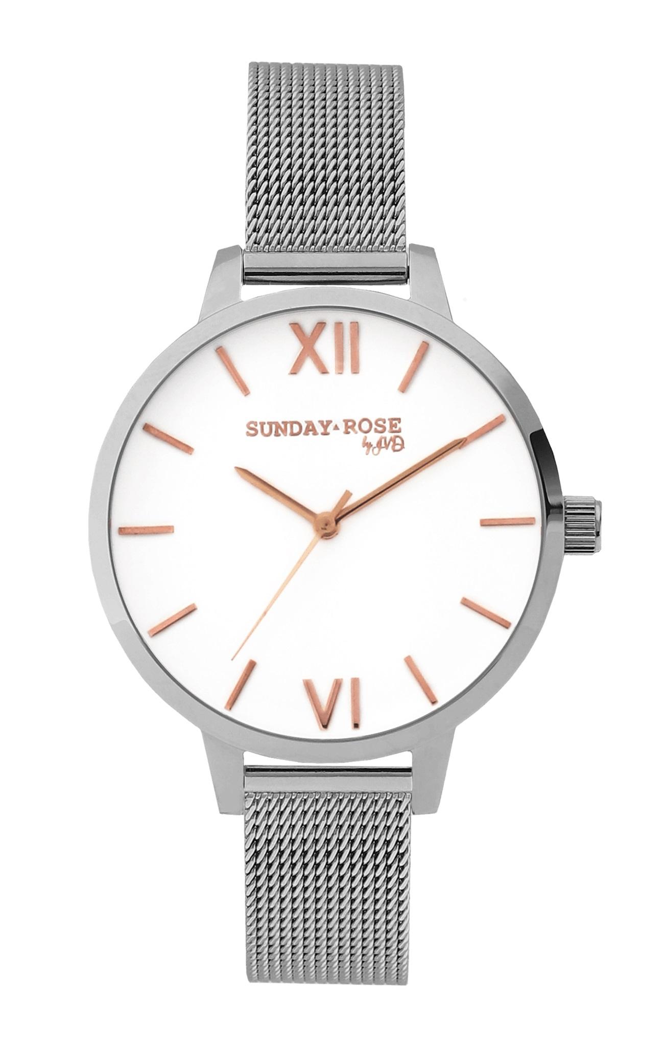Dámské luxusní designové hodinky SUNDAY ROSE Fashion SILVER LOVE (POŠTOVNÉ ZDARMA!!)