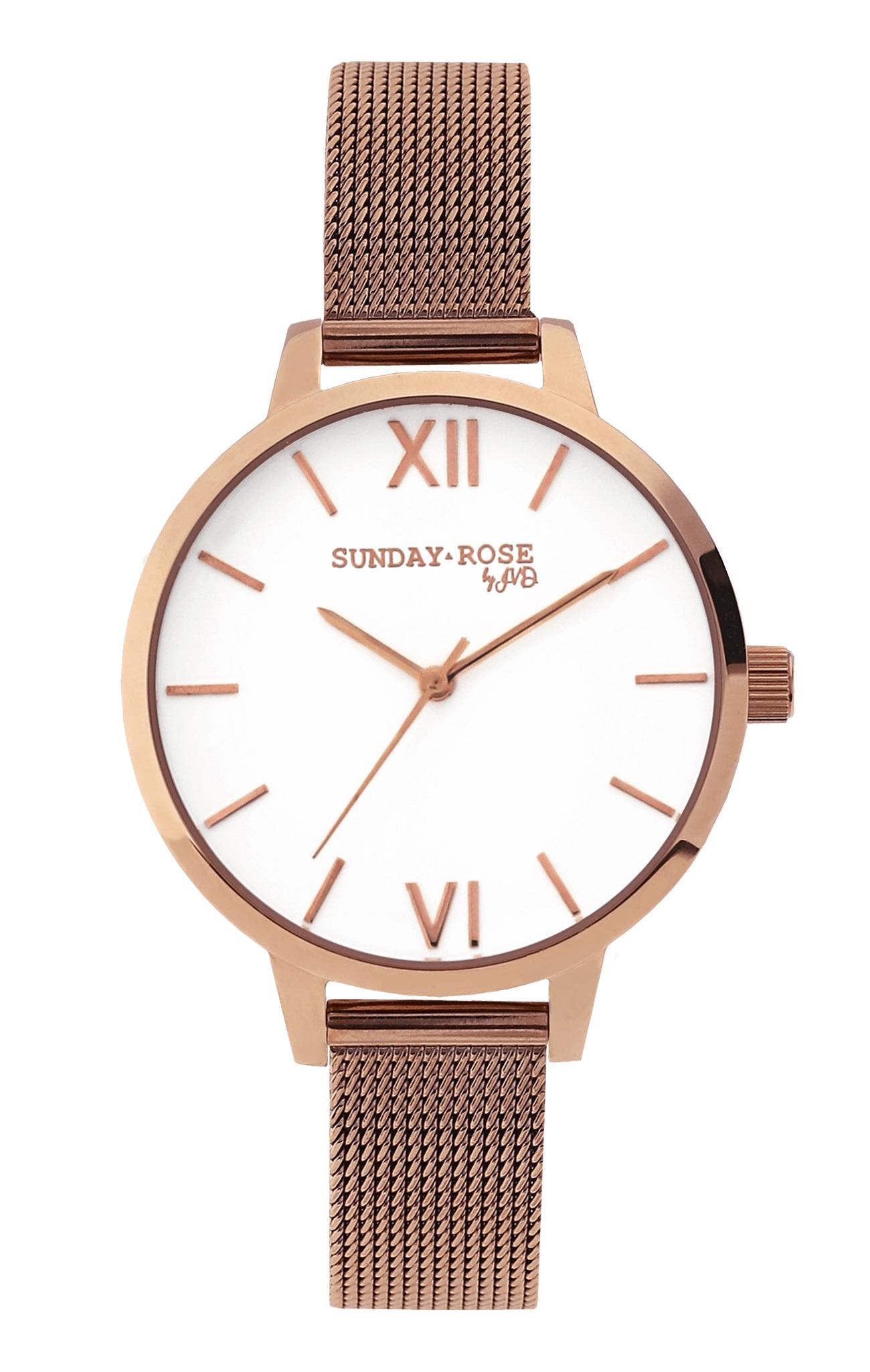 Dámské luxusní designové hodinky SUNDAY ROSE Fashion PINK ELEGANCE (POŠTOVNÉ ZDARMA!!)