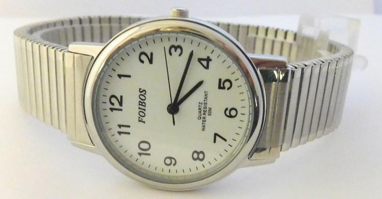 4a6f11ad8e2 Kompletní specifikace · Ke stažení · Související zboží · Komentáře (0). Pánské  zlaté ocelové hodinky Foibos 7432GS s natahovacím páskem