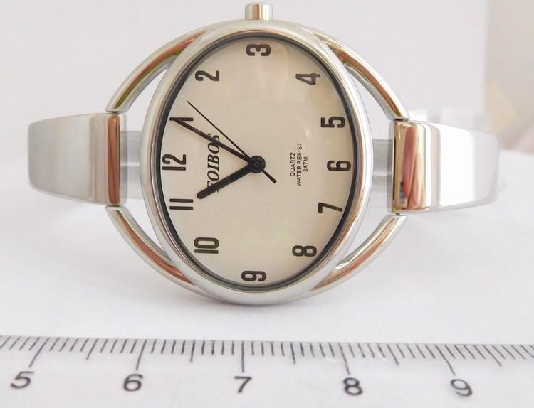 78b948a91db Kompletní specifikace · Ke stažení · Související zboží · Komentáře (0). Stříbrné  čitelné ocelové šperkové dámské hodinky Foibos 2892