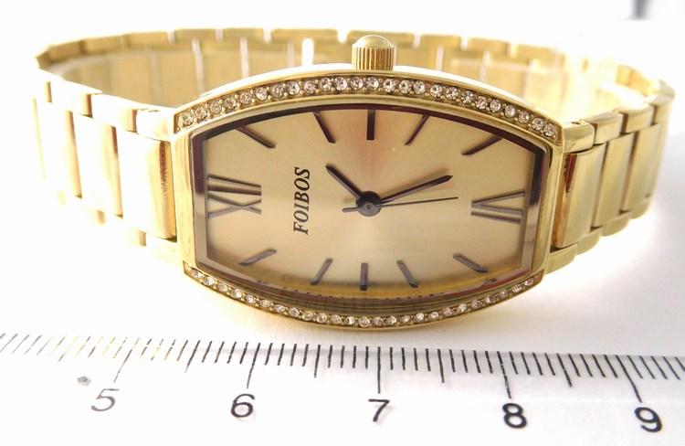 Kompletní specifikace · Ke stažení · Související zboží · Komentáře (0). Dámské  zlacené přehledné ocelové hodinky Foibos 1x13 se zirkony 3ATM 28ed413108e