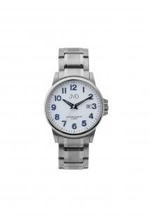 507568f8251 Přehledné čitelné pánské vodotěsné náramkové hodinky JVD J1119.1