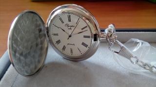 Luxusní pánské stříbrné kapesní hodinky Olympia 30601 4fd5cc4e30