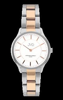 f39733df04f Dámské ocelové voděodolné náramkové hodinky JVD J4168.2