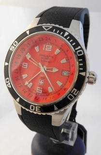 Luxusní pánské vodotěsné hodinky Swiss Alpine Millitary Grovana 1606.1836  SAM 130cb64069