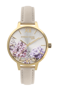 a6516dd0797 Dámské luxusní designové hodinky SUNDAY ROSE Spirit BLOOM SUN-S08