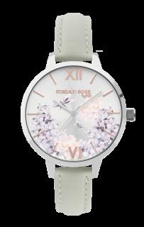 18bfd1da217 Dámské luxusní designové hodinky SUNDAY ROSE Spirit LILAC SUN-S07